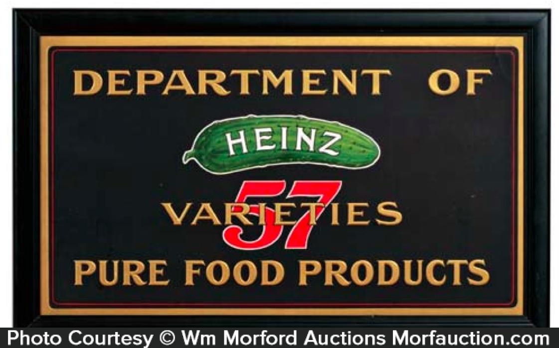 Heinz 57 Varieties Sign