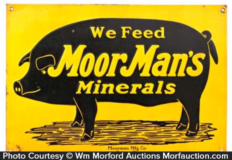 Moor Man's Pig Sign