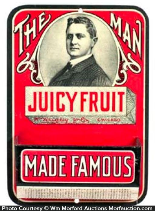 Juicy Fruit Match Holder