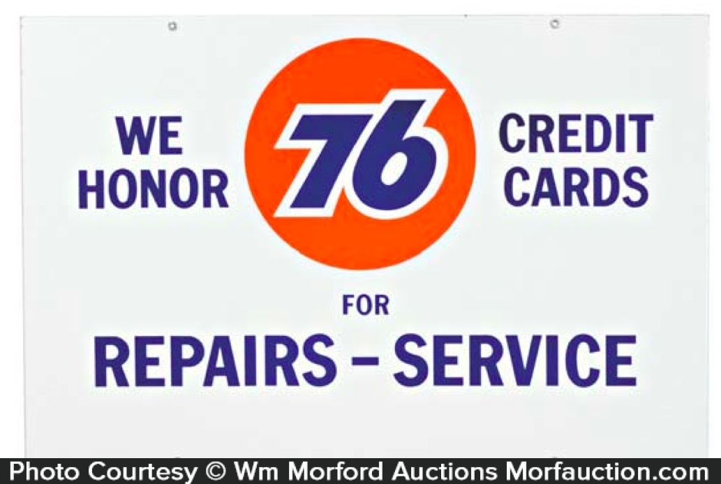 76 Service Station Sign