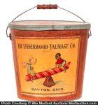 Underwood Talmage Candy Bucket