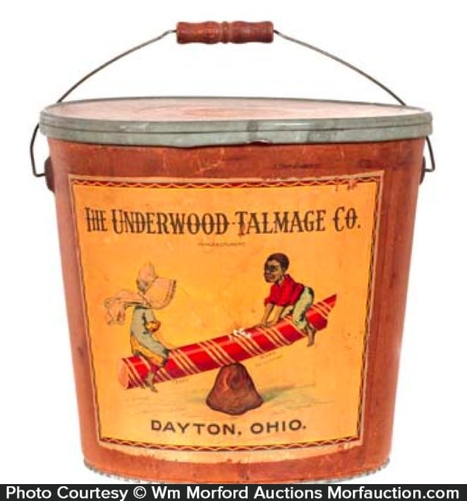 Underwood Talmage Candy Bucket