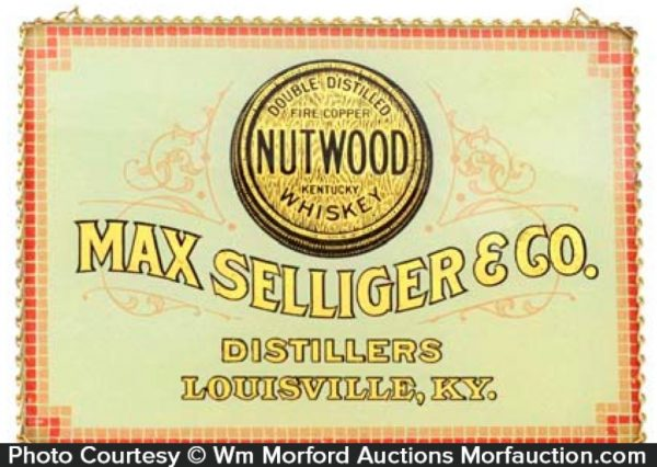 Nutwood Whiskey Sign