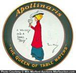 Apollinaris Tip Tray
