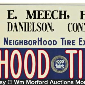 Hood Tires Sign