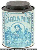 Hard A Port Tobacco Tin