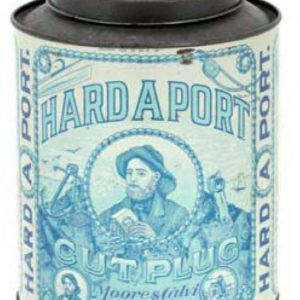 Hard A Port Tobacco Tin