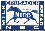 Muth's Crusader Bread Sign