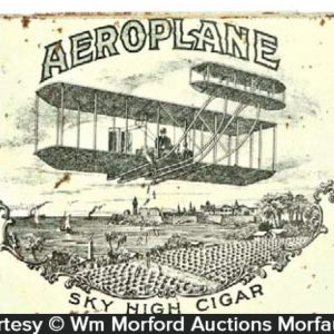 Aeroplane Cigar Tin