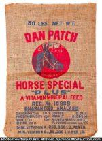 Dan Patch Horse Feed Bag