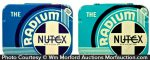 Nutex Radium Condom Tins