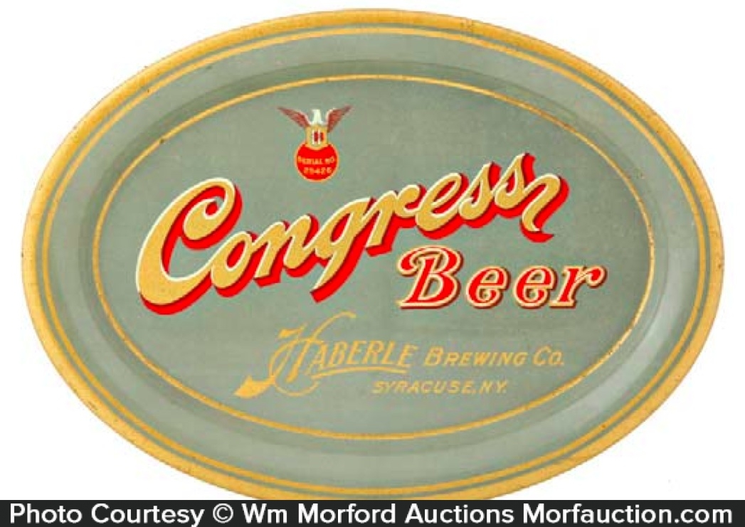 Congress Beer Tray