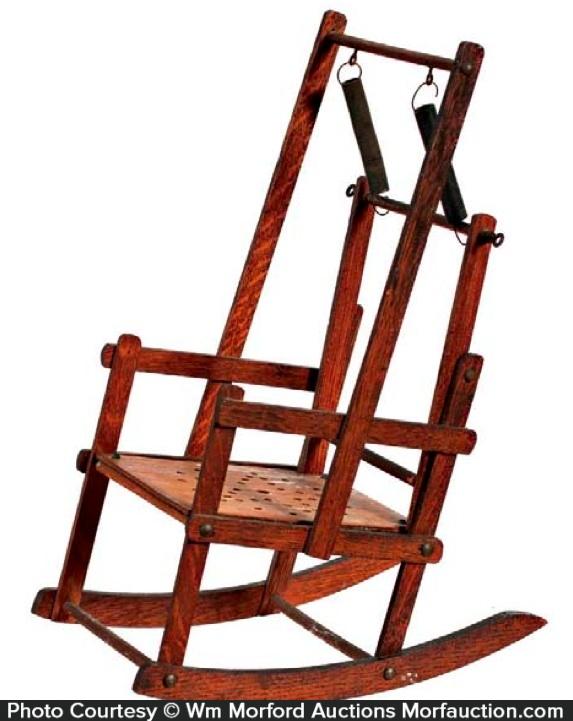 Salesman's Sample Rocking Chair