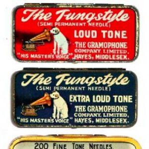 Masters Voice Needle Tins