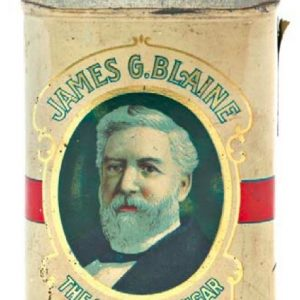 James Blaine Cigar Can