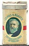 James Blaine Cigar Can