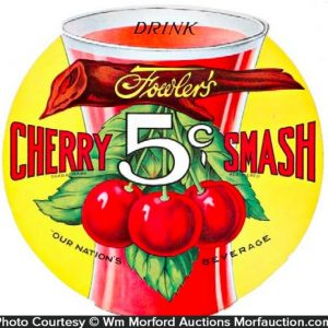 Cherry Smash Sign