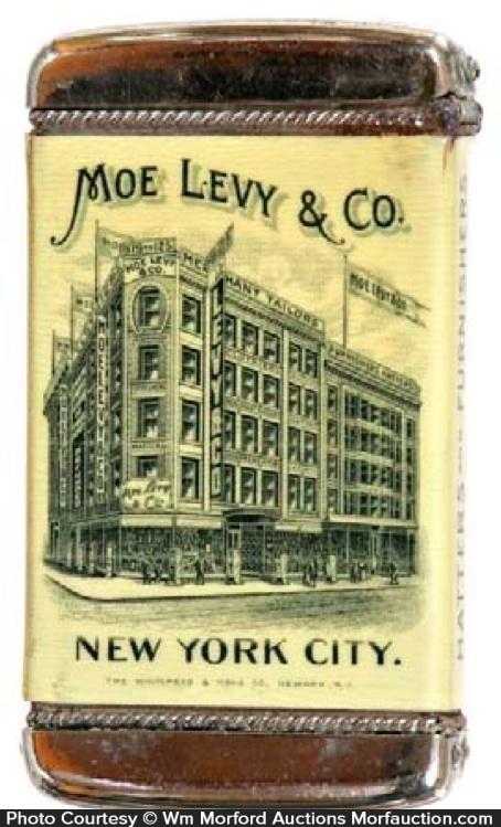 Moe Levy Match Safe
