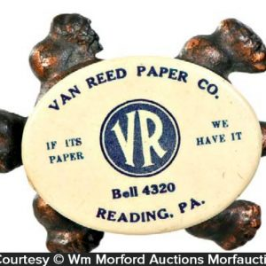 Van Reed Advertising Turtle