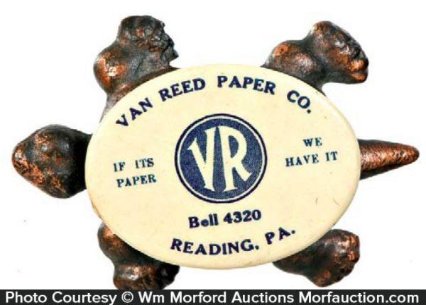 Van Reed Advertising Turtle
