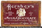 Hershey's Milk Chocolate Sign