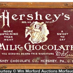 Hershey's Milk Chocolate Sign