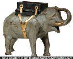 Mechanical Elephant Cigarette Dispenser