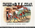 Darktown Fire Brigade Cigar Sign