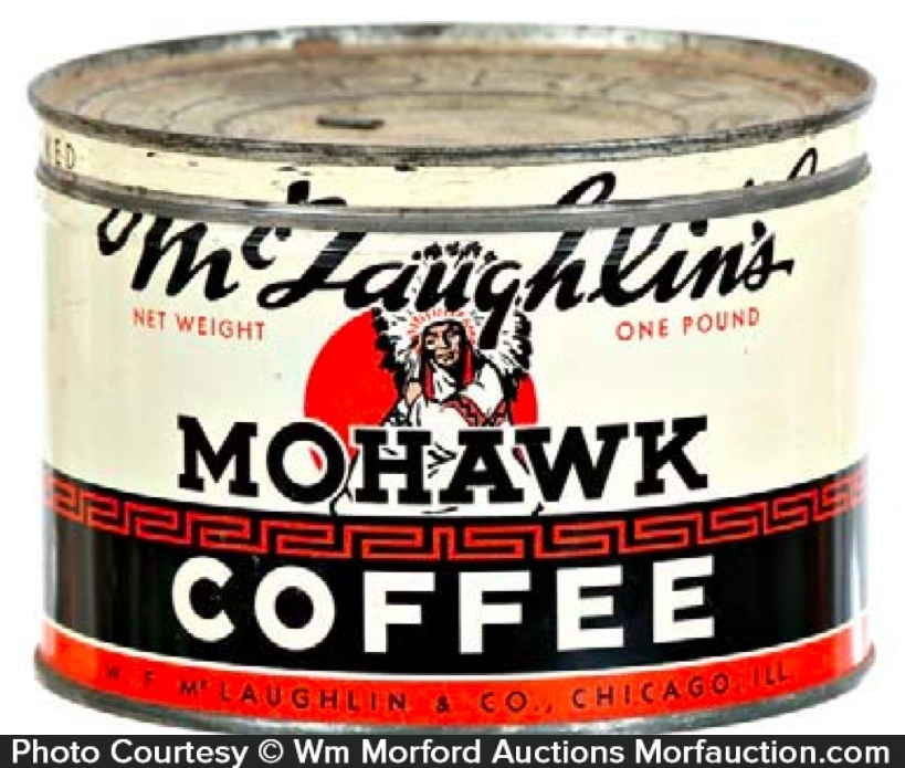 Mohawk Coffee Can