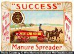 Success Manure Spreader Tip Tray