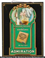 Admiration Cigars Sign