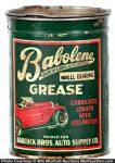 Babolene Grease Can