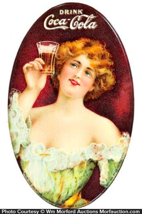1907 Coca-Cola Mirror
