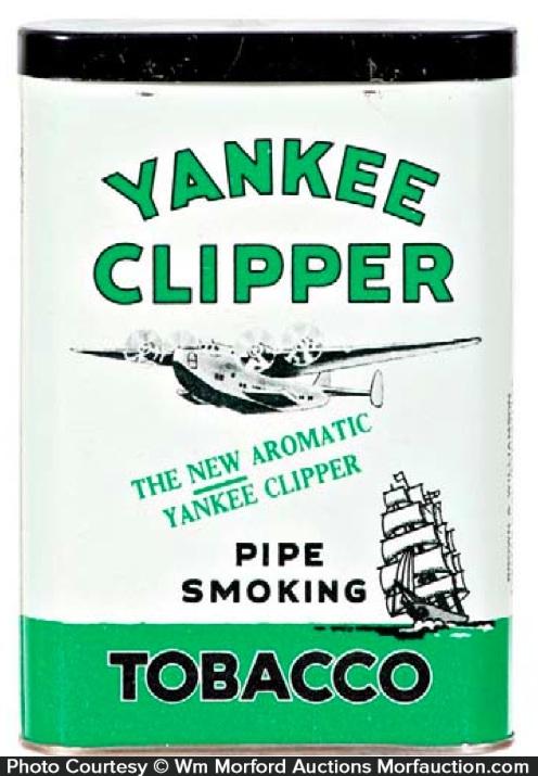 Yankee Clipper Tobacco Tin