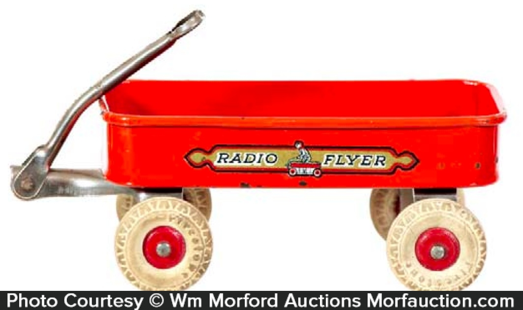 Miniature Radio Flyer Wagon