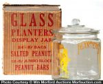 Planters Display Jar