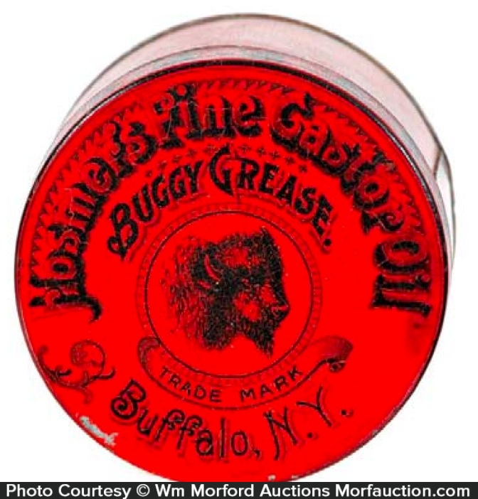 Hosmer's Buggy Grease Tin