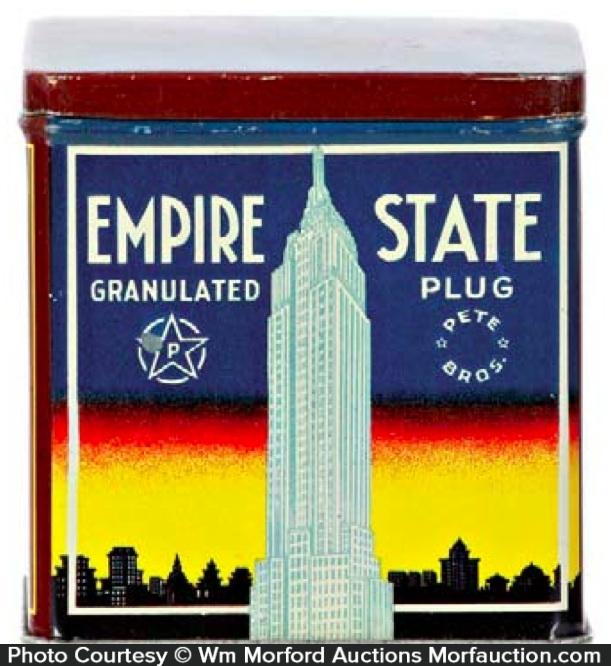 Empire State Tobacco Tin