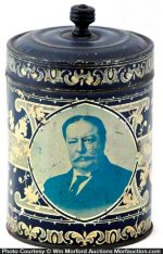 Howard Taft Coffee Tin