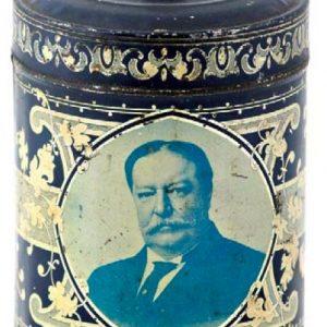Howard Taft Coffee Tin