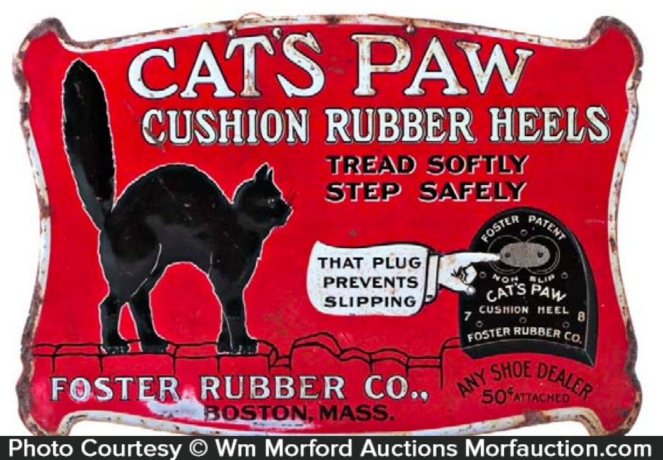 Cats Paw Heels Sign