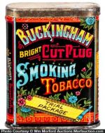 Buckingham Tobacco Sample Tin