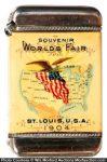 St. Louis World's Fair Match Safe