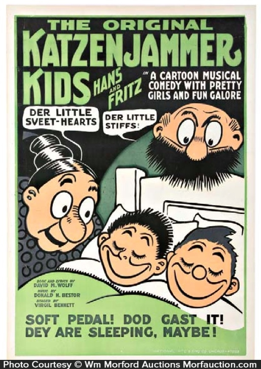 Katzenjammer Kids Poster