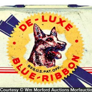De Luxe Blue Ribbon Condom Tin