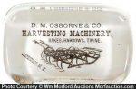 Osborne Harvesting Paperweight
