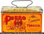 Pedro Tobacco Lunch Box Tin