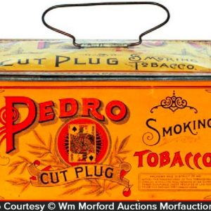Pedro Tobacco Lunch Box Tin