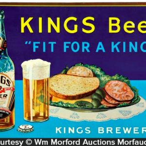 King's Beer Sign