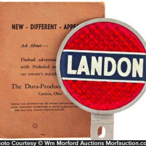 Landon Bumper Tag